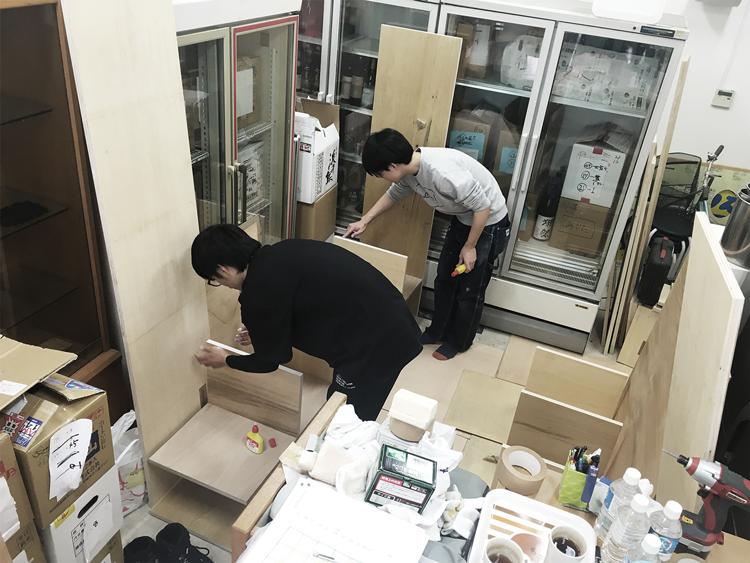 家具作り3